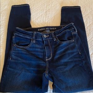 American Eagle next level stretch jeggings 10 S
